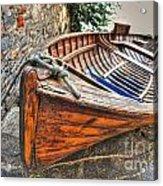Wood Boat Acrylic Print