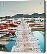 Wooden Pier Acrylic Print
