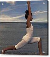 Yoga Acrylic Print by Joana Kruse