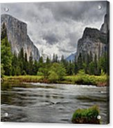 Yosemite's Valley View  Acrylic Print