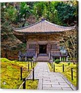 Zen Garden At A Sunny Day Acrylic Print