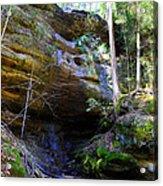 Ash Cave Acrylic Print