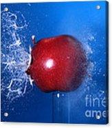 Bullet Hitting An Apple Acrylic Print
