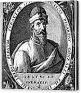 Francisco Pizarro Acrylic Print
