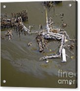 Hurricane Katrina Damage Acrylic Print by Science Source