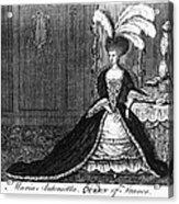 Marie Antoinette (1755-1793) Acrylic Print