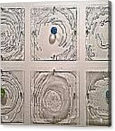 10 Panel Ripple Effect Installation Acrylic Print