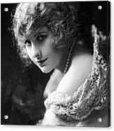 Pearl White (1889-1938) Acrylic Print