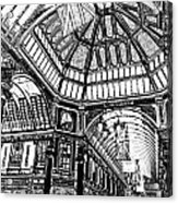 Leadenhall Market London Acrylic Print