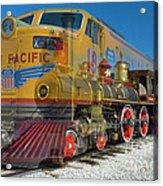 100 Years Of Union Pacific Railroading Acrylic Print