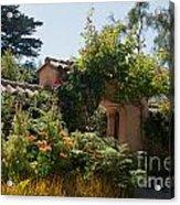Gardens In Carmel Monastery Acrylic Print