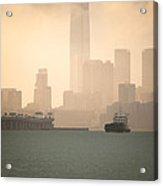 Hong Kong Harbour View Acrylic Print