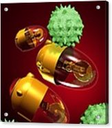 Medical Nanorobots, Artwork Acrylic Print