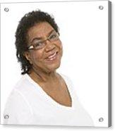 Smiling Senior Woman Acrylic Print