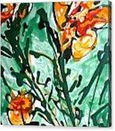 Divineflowers Acrylic Print