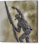 11th Mississippi Infantry Regiment At Gettysburg Acrylic Print