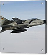 A Luftwaffe Tornado Ids Over Northern Acrylic Print