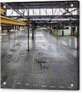 An Empty Industrial Building In Los Acrylic Print