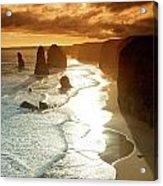 12 Apostles At Sunset Acrylic Print
