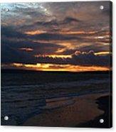 Bournemouth Sunset Acrylic Print
