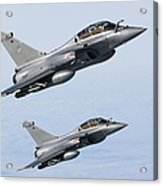 Dassault Rafale B Of The French Air Acrylic Print