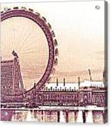 London Eye Art Acrylic Print