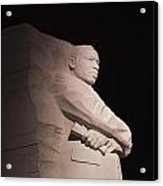 Martin Luther King Jr Memorial Acrylic Print