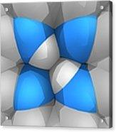 Molecular Model Acrylic Print