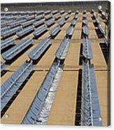 Solar Power Plant, California, Usa Acrylic Print
