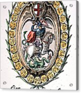 William The Conqueror Acrylic Print