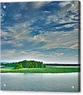 1206-9119 Arkansas River At Spadra Park  Acrylic Print