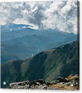 12610 On Top Of New Hampshire Acrylic Print
