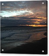 Bournemouth Sunset Acrylic Print