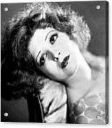 Clara Bow (1905-1965) Acrylic Print