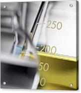 Laboratory Glassware Acrylic Print