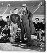 Silent Film Still: Sports Acrylic Print by Granger