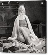 Silent Film Still: Woman Acrylic Print