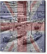 Thames Barges Tower Bridge 2012 Acrylic Print