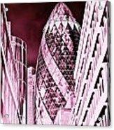 The Gherkin London Acrylic Print