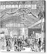 Centennial Fair, 1876 Acrylic Print