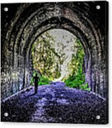 Moonville Tunnel  Acrylic Print