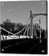 The Albert Bridge London  Acrylic Print