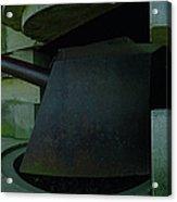 15cm German Naval Gun Acrylic Print