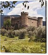 15th Century Castle Of The Duke Of Acrylic Print