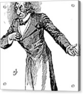 Benjamin Disraeli (1804-1881) Acrylic Print