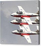 The Snowbirds 431 Air Demonstration Acrylic Print