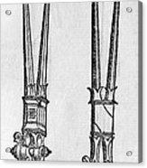 16th Century Forceps Acrylic Print