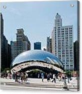 Chicago City Scenes Acrylic Print