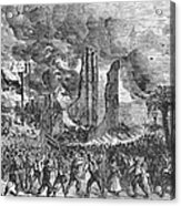 New York: Draft Riots, 1863 Acrylic Print