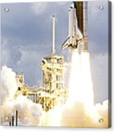 Space Shuttle Atlantis Lifts Acrylic Print